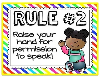 Whole Brain Teaching Rules Posters {FREEBIE}