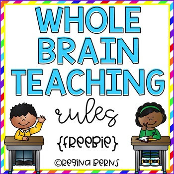 Whole Brain Teaching Rules Posters {FREEBIE}
