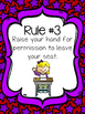 Whole Brain Teaching Rules Posters: Stars Style