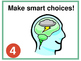 Whole Brain Teaching Rules Posters with and without Depth & Complexity Rule Icon