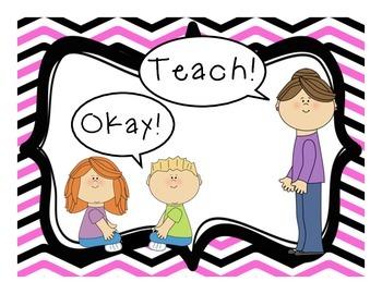 Whole Brain Teaching Rules & Procedures [Chevron]