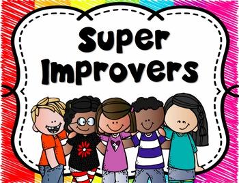 Whole Brain Teaching Rules, Scoreboard, & Super Improver Posters