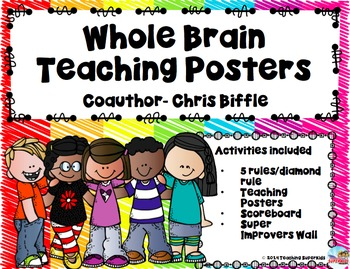 Whole Brain Teaching Rules, Scoreboard, & Super Improver Posters
