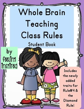 Whole Brain Teaching Rules Student Booklet