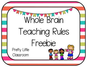 Whole Brain Teaching Rules Tropical Color