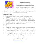 Whole Brain Teaching Rules - Upper Elementary