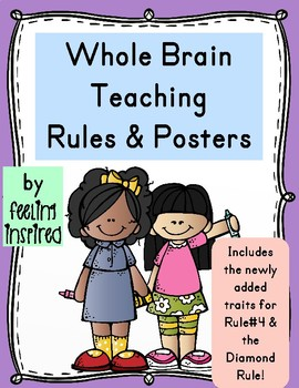 Whole Brain Teaching Rules and Posters