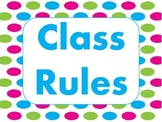 Whole Brain Teaching Rules and Procedures
