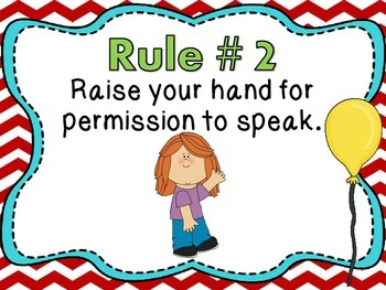 Whole Brain Teaching Rules and Procedures - Seuss Theme