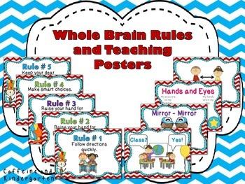 Whole Brain Teaching Rules and Procedures - Seuss Theme