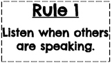 Whole Brain Teaching Rules and Voice Levels
