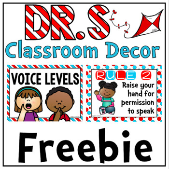 Whole Brain Teaching Rules and Voice Levels FREEBIE in Dr S