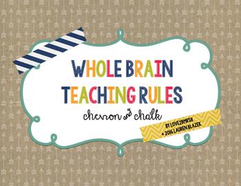 Whole Brain Teaching Rules {chalk & chevron}