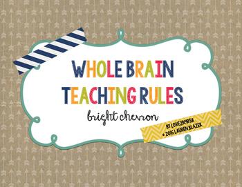 Whole Brain Teaching Rules {chevron print}
