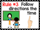 Whole Brain Teaching Rules for Special Education Students