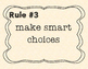Whole Brain Teaching Rules for a Student-led class