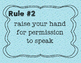 Whole Brain Teaching Rules for a Student-led class water d