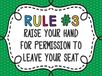 Whole Brain Teaching Rules plus Diamond Rule