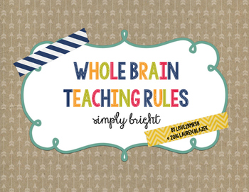 Whole Brain Teaching Rules {simply bright}