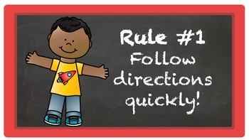 Whole Brain Teaching Rules with UPDATED RULE #5!