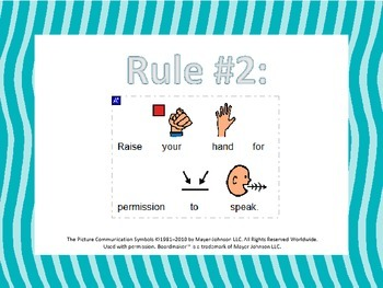 Whole Brain Teaching Rules with Visuals