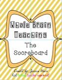 Whole Brain Teaching Scoreboard
