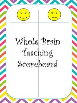 Whole Brain Teaching Scoreboard Freebie