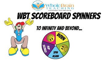 Whole Brain Teaching Scoreboard Spinners
