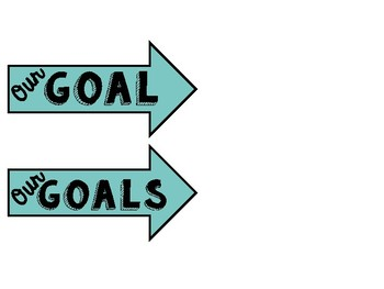 Whole Brain Teaching Scoreboard and Goal Arrows