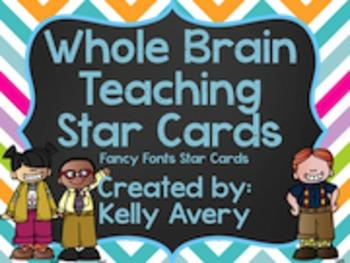Whole Brain Teaching, Star Cards