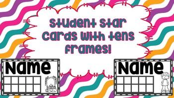 Whole Brain Teaching Star Cards