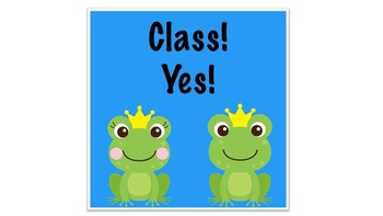 Whole Brain Teaching Strategy Posters-Frog Themed