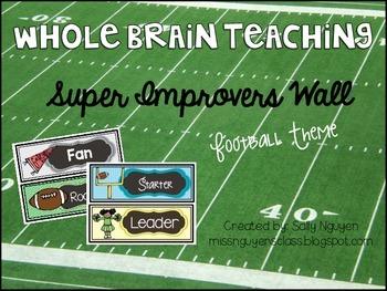 Whole Brain Teaching Super Improvers Football