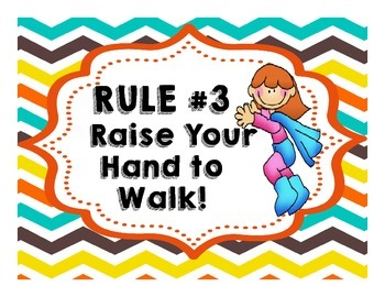 Whole Brain Teaching Superhero Themed Rules