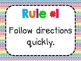 Whole Brain Teaching: The 5 Rules (bright colors)