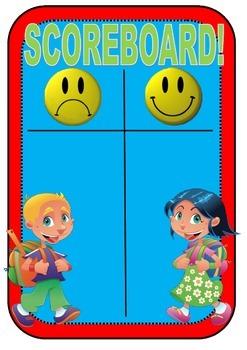 Whole Brain Teaching - The Scoreboard