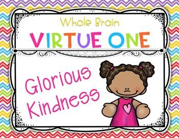 Whole Brain Teaching Virtues FREE! {Posters} {Organizers}