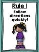 Whole Brain Teaching (WBT) Classroom Rules Posters: Kids Edition {Freebie}
