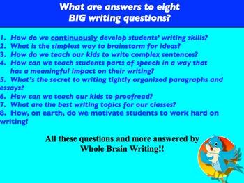 Whole Brain Teaching Writing