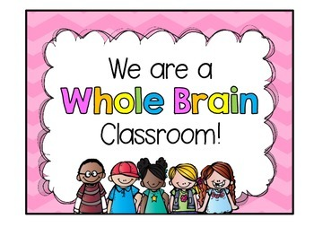 Whole Brain Teaching (door sign) freebie!