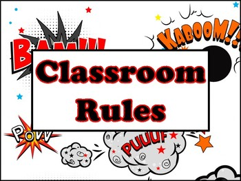 Whole Brain Teaching rules, superhero edition