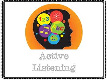Whole Brain, Whole Body, Active Listening Posters