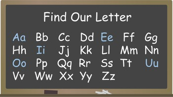 Whole Class All About the Letters A-Z