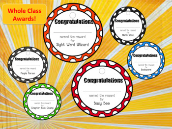 Whole Class Awards