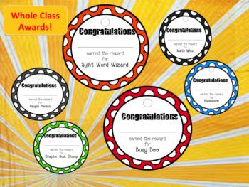 Whole Class Awards