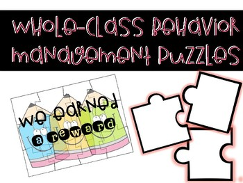 Whole-Class Behavior Management Puzzles
