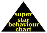Whole Class Behaviour/Behavior Chart - Rocket Ship