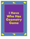 Whole Class Geometry Game