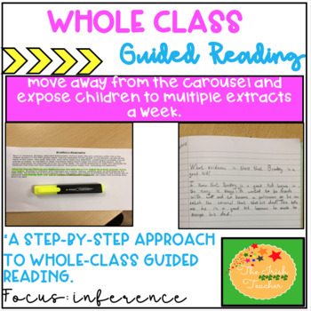 Whole Class Guided Reading: Lesson Plan