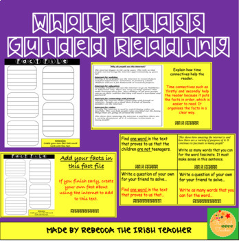 Whole Class Guided Reading: Non-Fiction